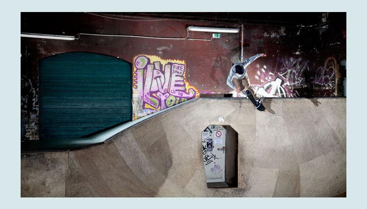 skatehalle berlin grinding