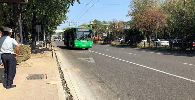 В Алма-Ате автобусную остановку подключат к радиоэфиру - Новости радио OnAir.ru