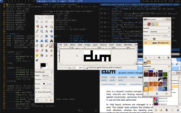 dwm vs Fluxbox detailed comparison as of 2019 - Slant