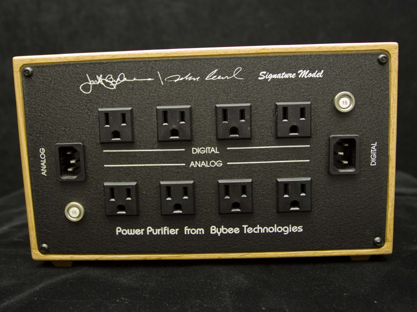 Bybee / John Curl Signature Power Purifier Line Filters  Audiophile Magic
