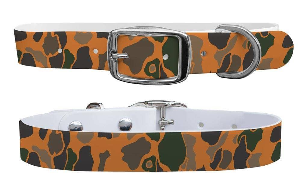 Brigadier camo c4 dog collar