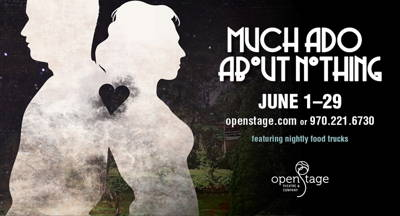 """Much Ado About Nothing"" Presented by OpenStage Theatre"