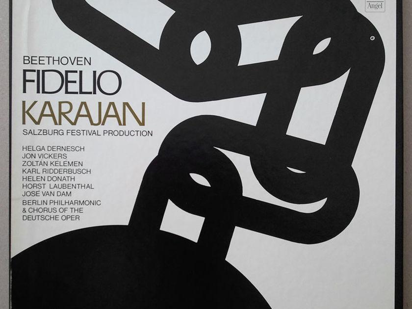 ANGEL/Karajan/BEETHOVEN - Fidelio / 3-LP / NM