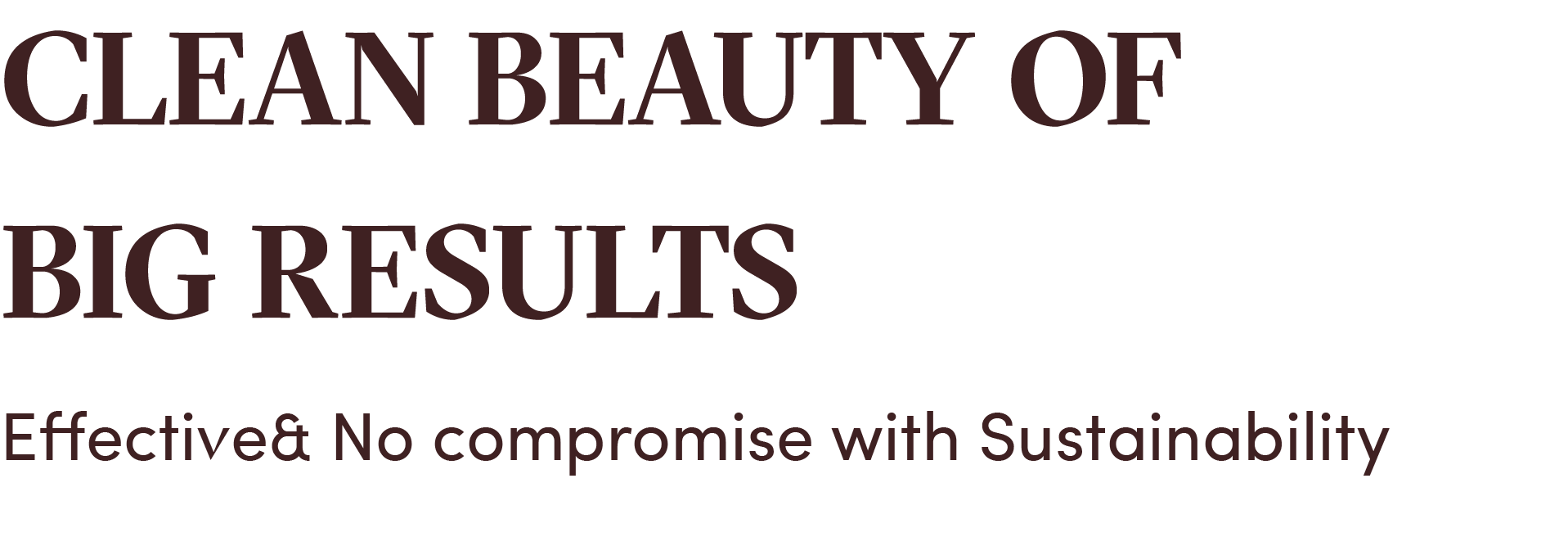 Botanic Pretti5 Clean Beauty