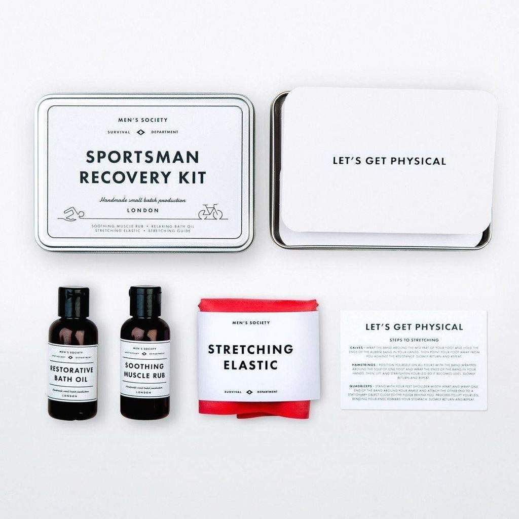 Inside the Sportsman Recovery Kit | Gift for runners