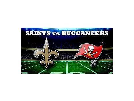 2 Saints vs. Buccaneers Tickets