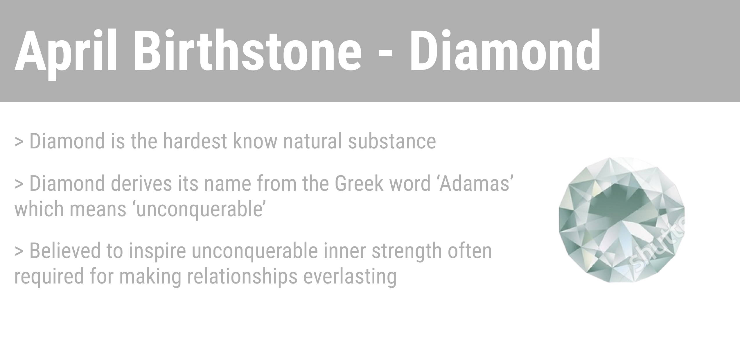 april birthstone quick facts