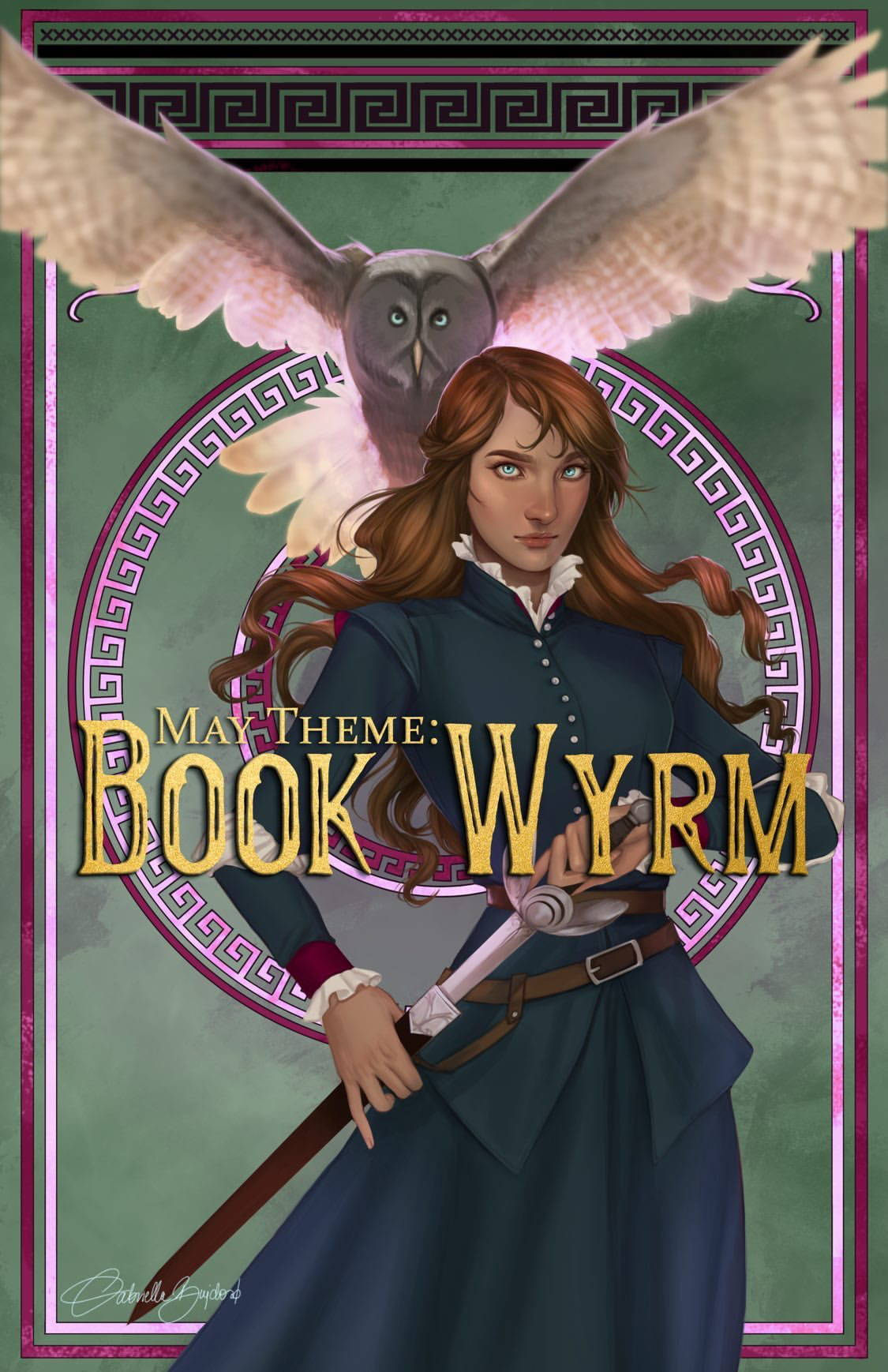 May Theme: Book Wyrm