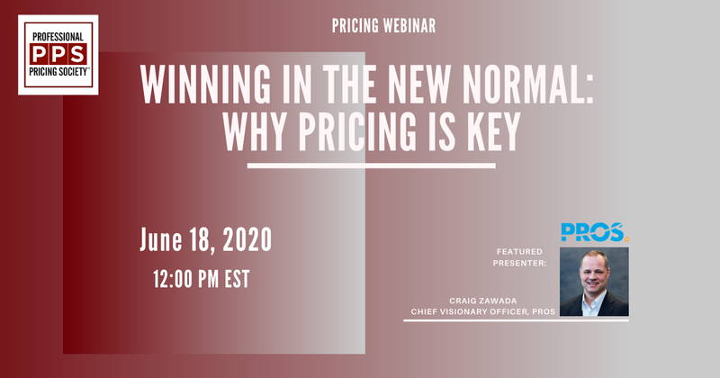 Pricing in a Crisis Virtual Summit