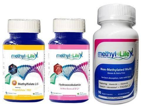 Methyl-Life's Bundle Supplements