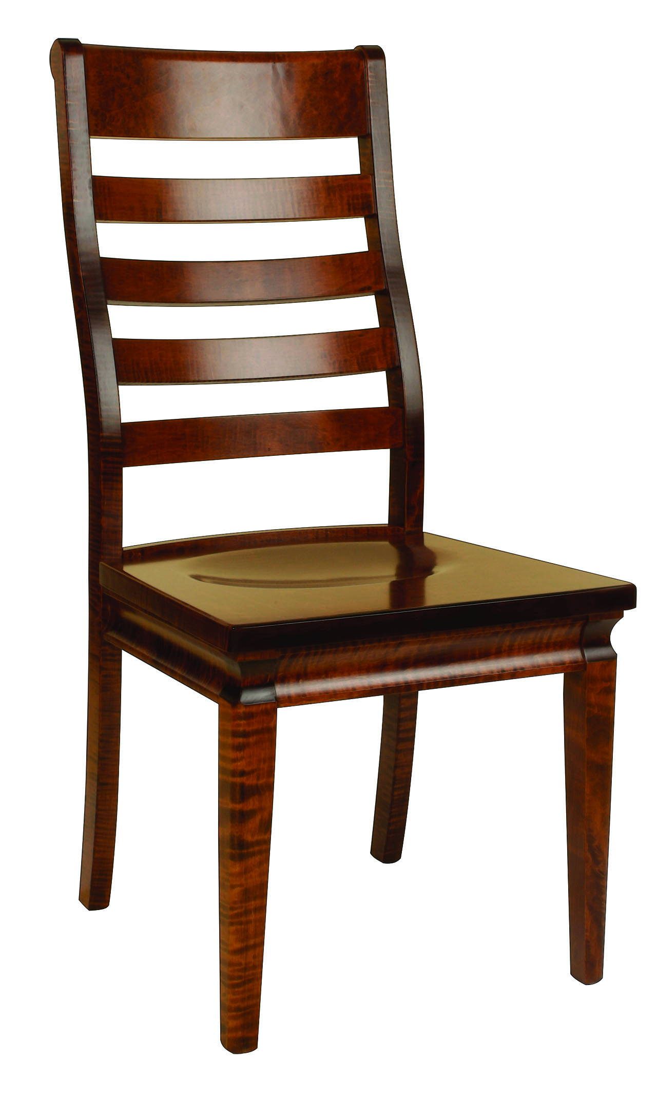 Orlando Solid Wood, Handcrafted Kitchen Chair or DIning Chair from Harvest Home Interiors Amish Furniture
