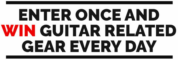 Win Guitar Related Gear Every Day