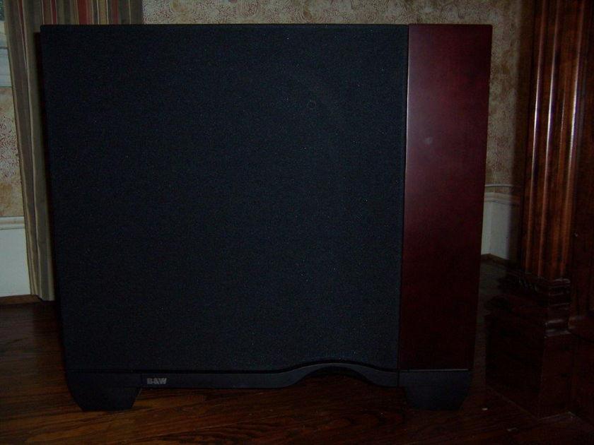 B&W Bowers & Wilkins ASW4000 Nautilus Rosenut Sub Subwoofer Speaker