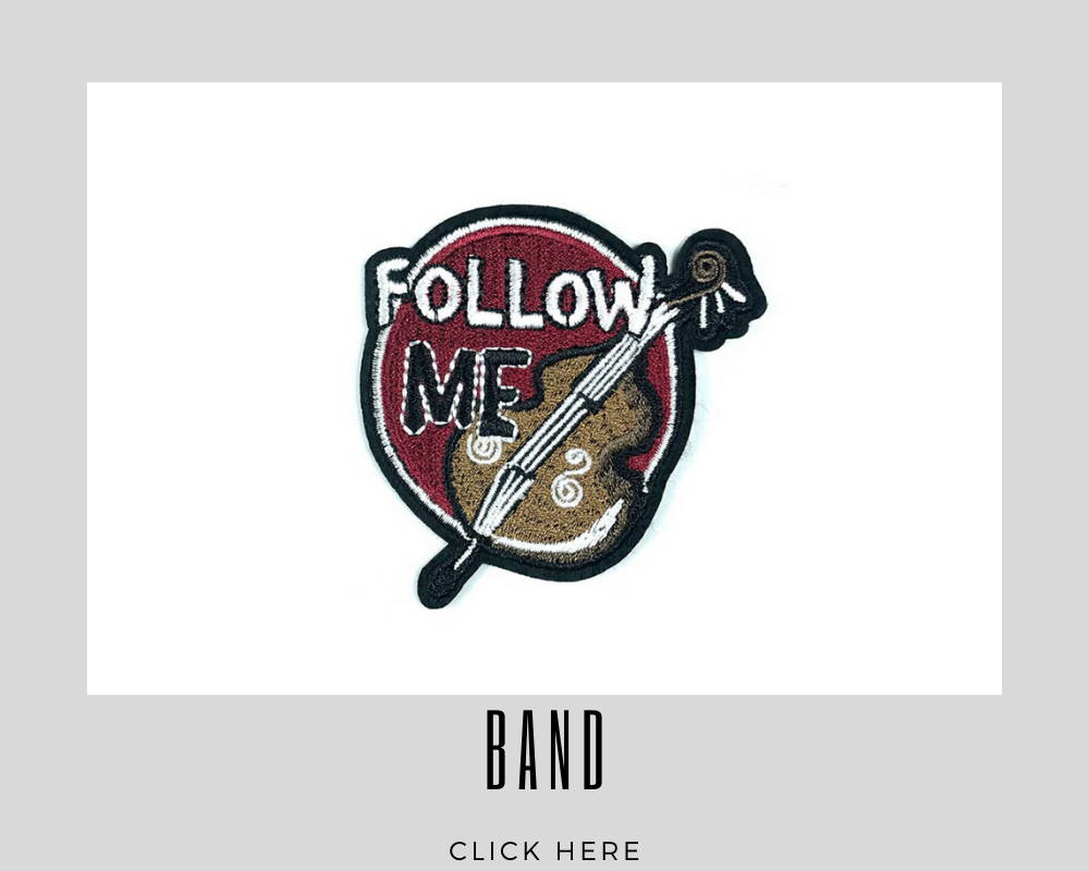Custom Embroidery Patches Band Corporate