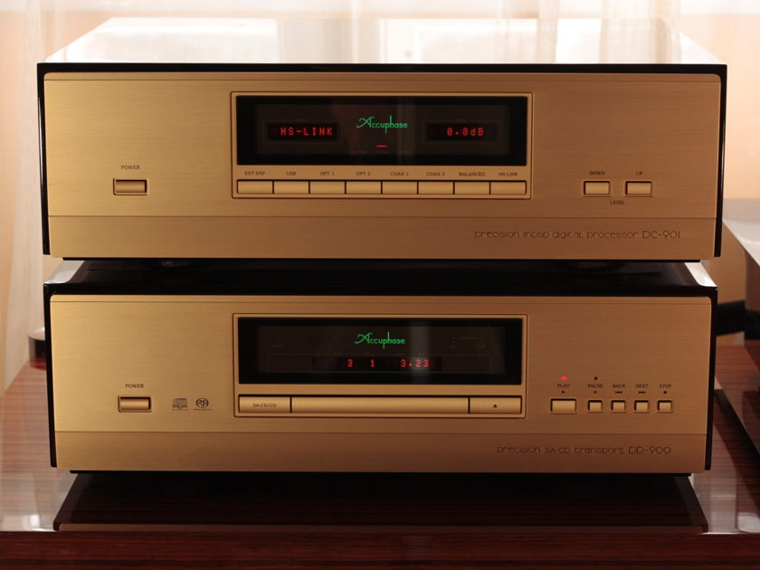 Accuphase Combo DP-900 & DC901  220-240 V