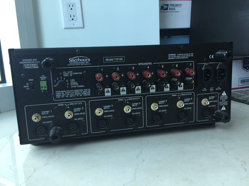 Sherbourn 7/2100 Power Amp