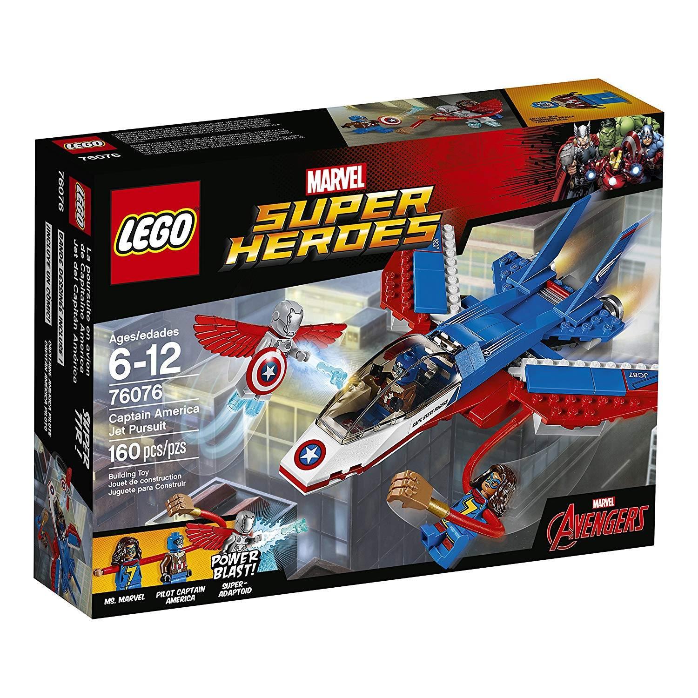 lego captain amerika jet pursuit