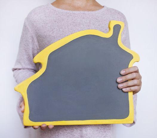 Магнитно-меловой планшет Дом Лимон