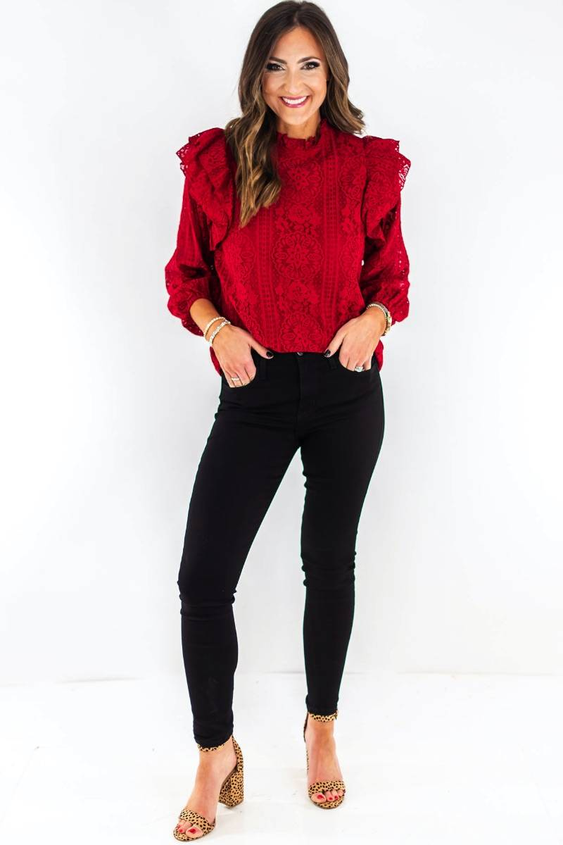 shop-style-your-sense-shop-cranberry-red-ruffle-long-sleeve-top