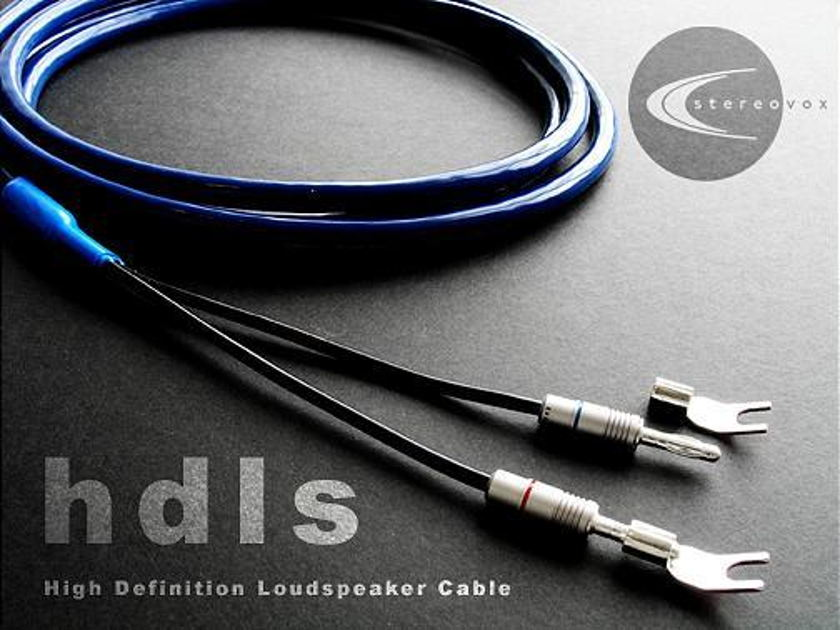 Stereovox HDLS Speaker cable  3 meter, free ship to USA