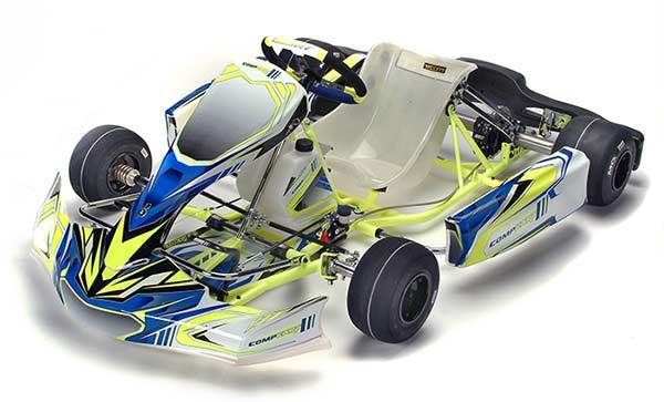 Compkart Covert 3.0 17-R TAG Kart Chassis