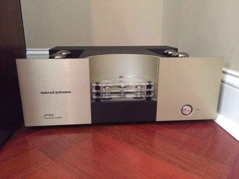 Conrad Johnson LP-70s TUBE AMP - rare find - OWN IT!
