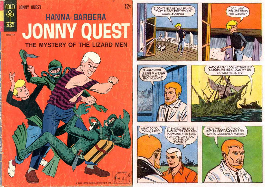 jonny quest comic book