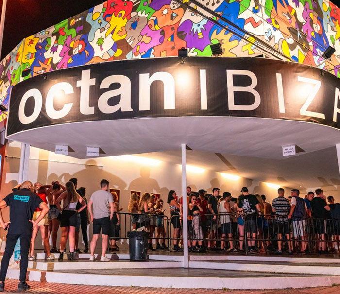Octan Ibiza exterior, Ibiza clubbing guide