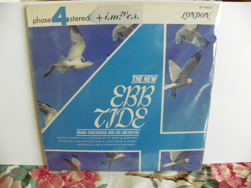 FRANK CHACKSFIELD & ORCH - THE NEW EBB TIDE London Phase 4 Recording