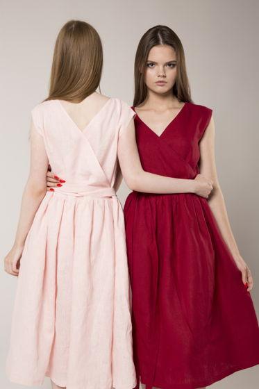 МЧП  - (Маленькое Чудное Платье) из льна