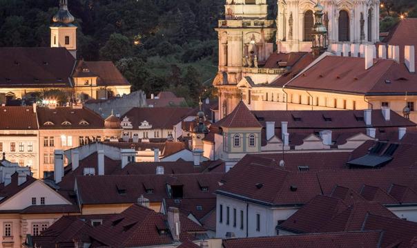 Малая Сторона Праги. Город