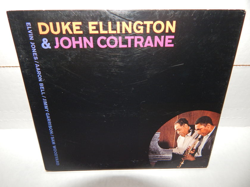 DUKE ELLINGTON & JOHN COLTRANE - Super 20Bit Master Impulse IMPD-166 1995 Tri-fold 12pg Booklet NM CD