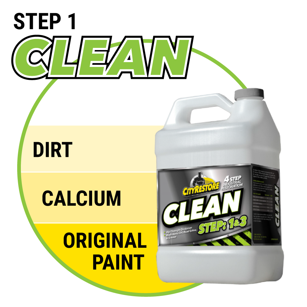 Step 1 - CLEAN