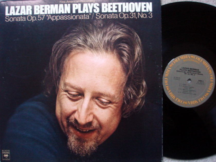 Columbia / LAZAR BERMAN, - Beethoven Piano Sonata No.18 & 23, MINT!