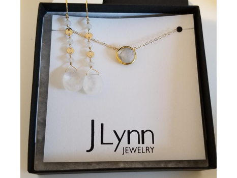 JLynn Necklace, Earrings & Gift Certificate