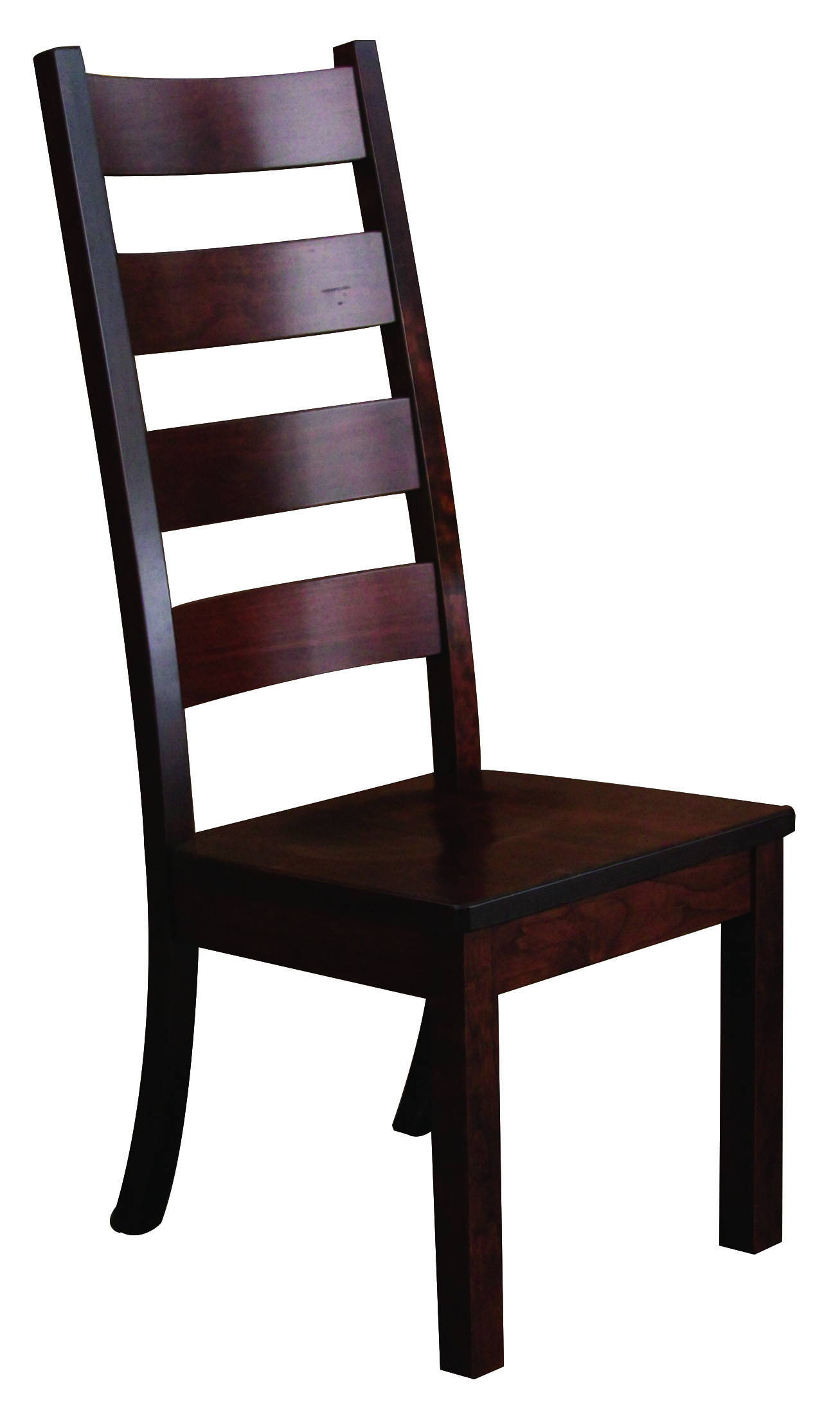 Western 46 Solid Wood, Handcrafted Kitchen Chair or DIning Chair from Harvest Home Interiors Amish Furniture