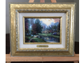 Thomas Kinkade's  Lakeside Manor Painting