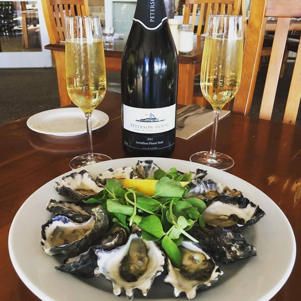 Oysters and Champagne at Blaxland Inn Hunter Valley Restaurant Hunter Valley Winery