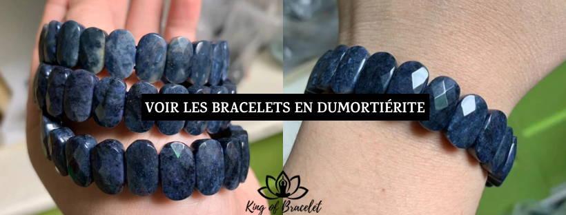 Bracelet Pierre Dumortiérite - King of Bracelet