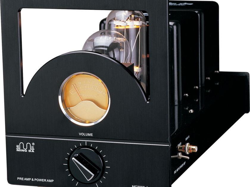Ming Da MC 805 SET Tube Amp MC 3008-C, 38 Watt Monoblock 805 Output, 300B driver tube, Warranty