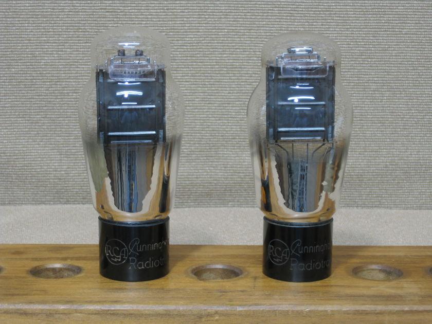 RCA 2A3 vacuum tube Single plate Matching pair