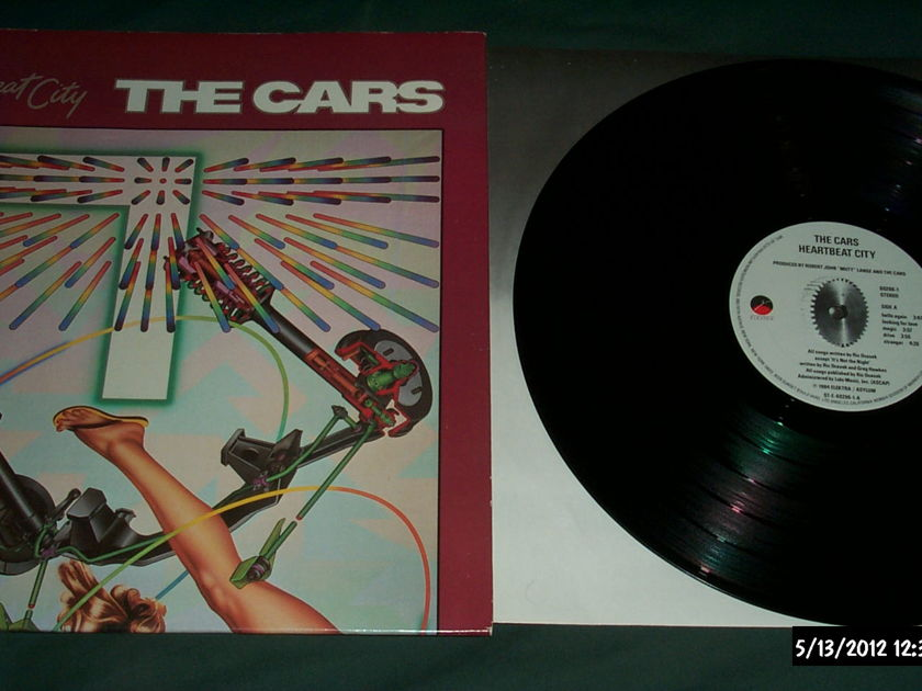 The cars - Hearbeat City lp nm