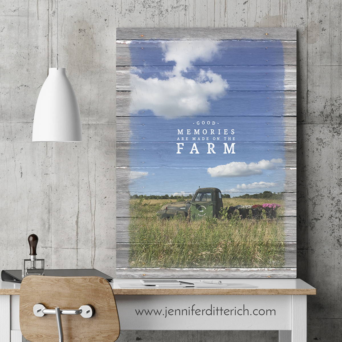 Custom Farm Print
