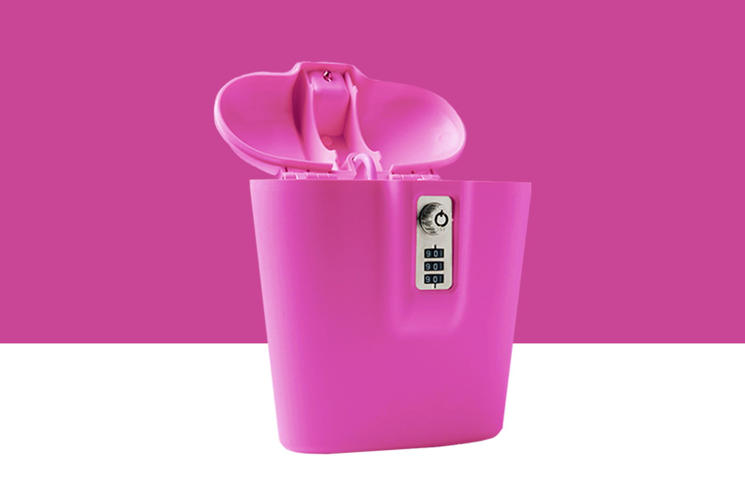 Plastic Pink Safe for Women by SAFEGO