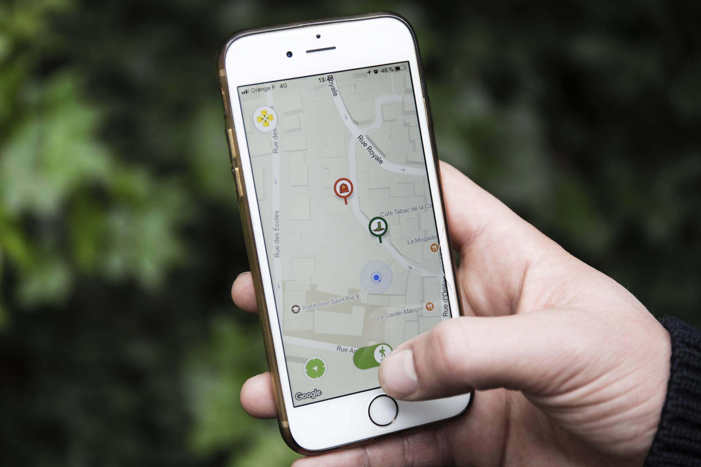 L'app Melckone qui vous montre les chasses actives et les chasseurs actifs qui vous entourent. Limitons ensemble le risque d'accidents pesant les actions de chasses