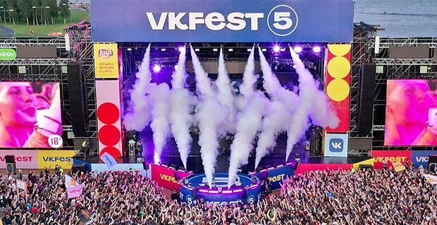 ВКонтакте и Радио Рекорд объявили даты шестого VK Fest - Новости радио OnAir.ru