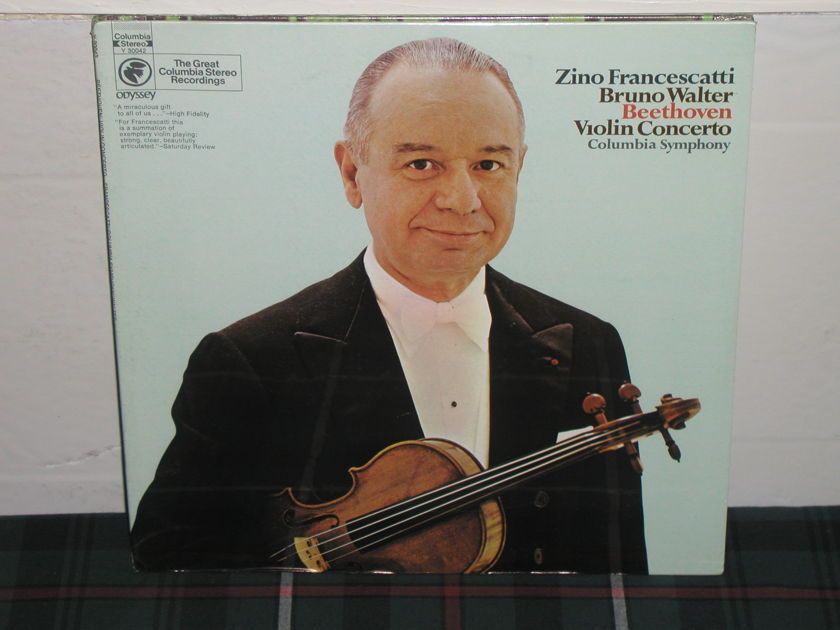 Francescatti/Walter - Beethoven Violin Cto Columbia still sealed (thick)