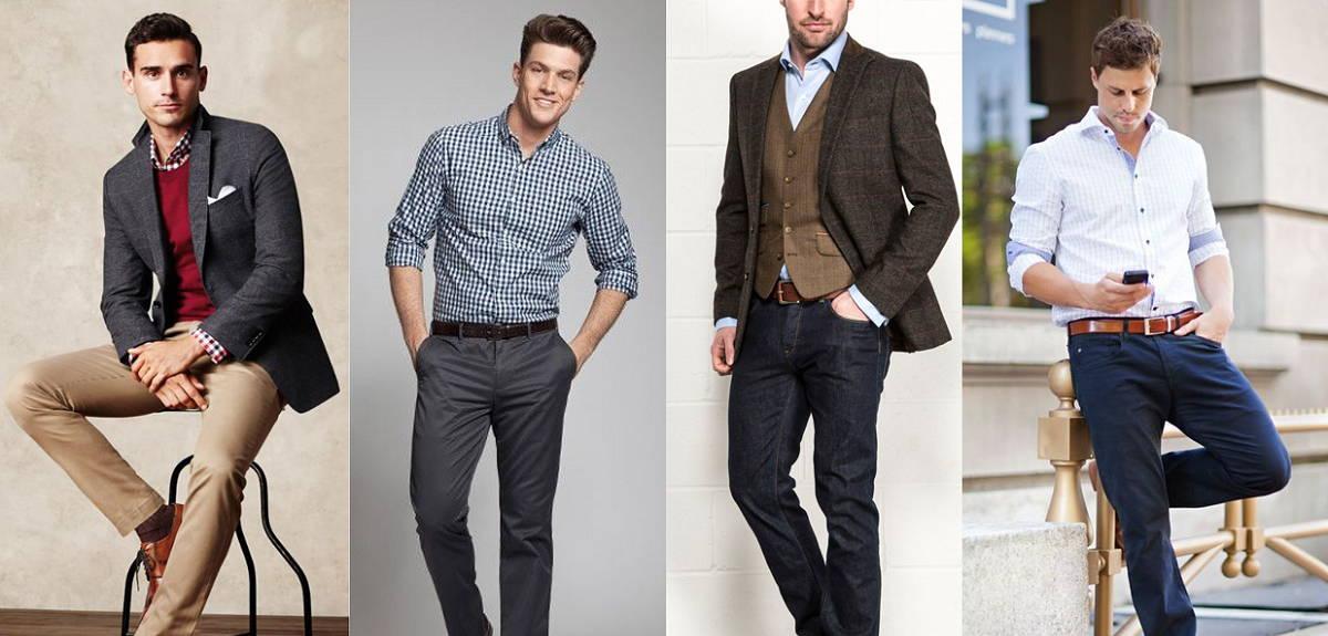 business attire men