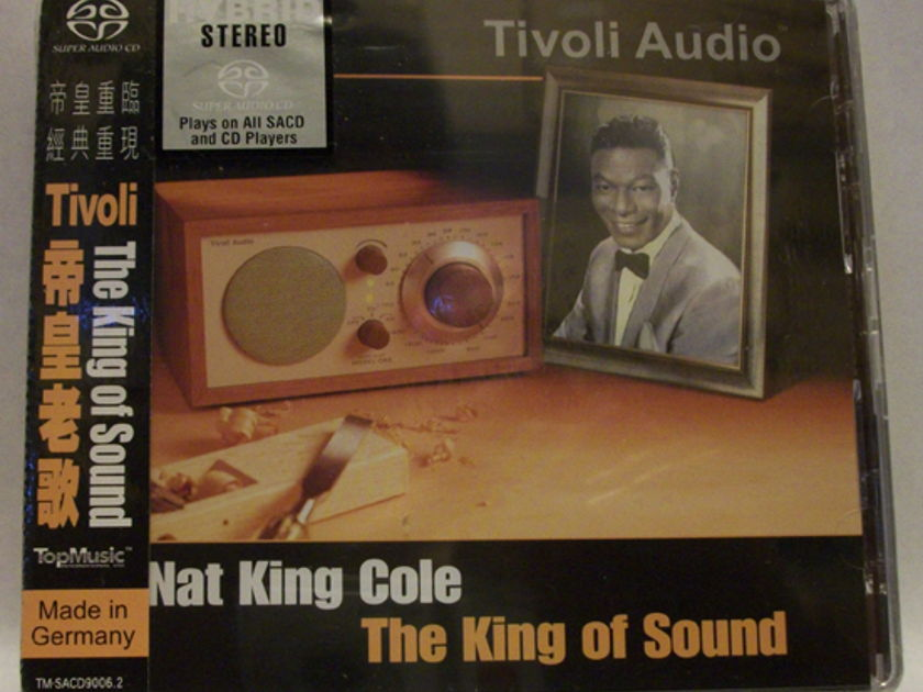 Nat King Cole - The King of Sound top music sacd/cd, new