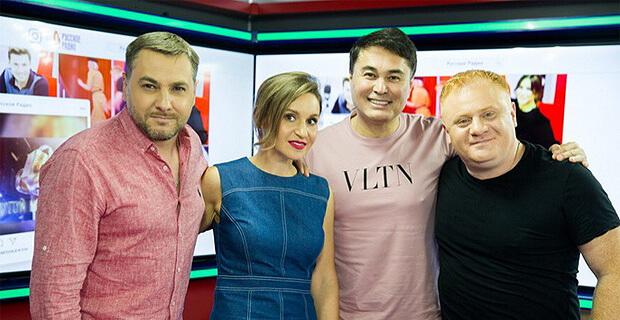 Арман Давлетяров стал гостем утреннего шоу «Русские Перцы» - Новости радио OnAir.ru